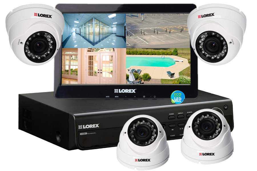 מצלמות אבטחה לבית LH45D210