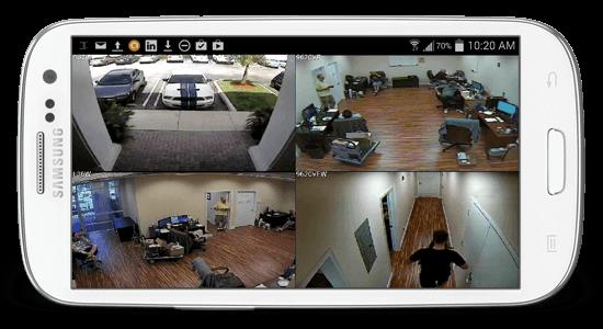 מערכת מצלמות אבטחה לעסק